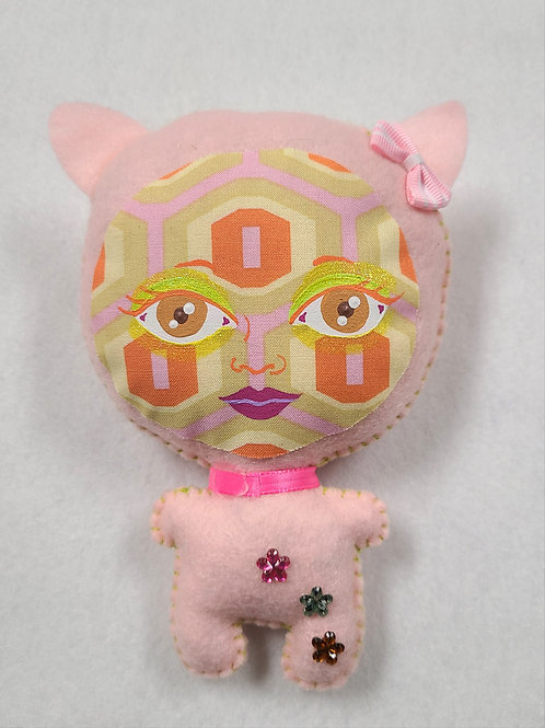 Plush Art Doll:Pink