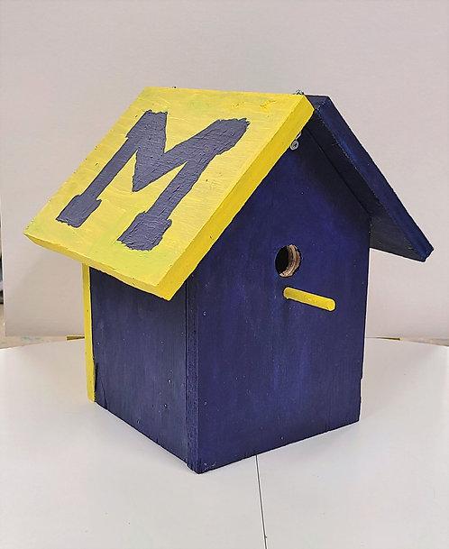 University of Michigan Birdhouse
