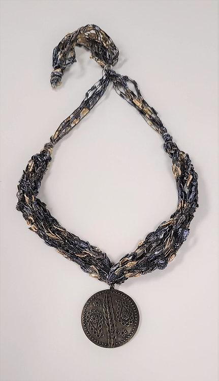 Paisley Crochet Necklace