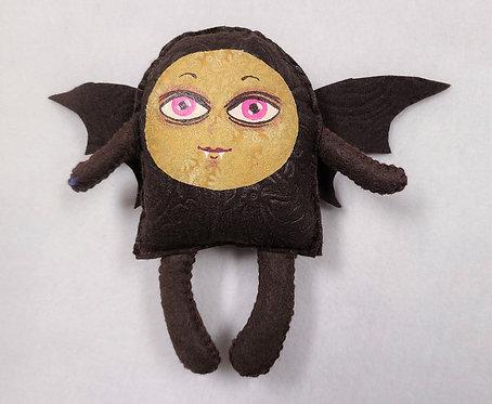 Plush Art Doll: Bat