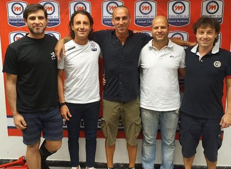 Il nuovo staff della 1° squadra