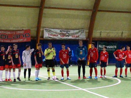 Under 15: nella sfida Midland contro Midland vince il Calcio a 5!