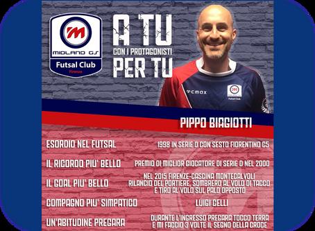 A tu per tu con i protagonisti: Pippo Biagiotti