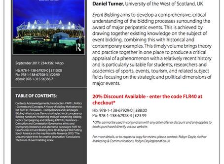 New book: Event Bidding - Politics, Persuasion and Resistance