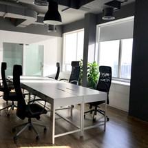 Open Office Working Area