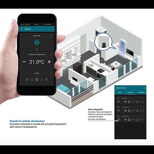 Dispositivo per gestione climatizzatore tramite APP su smartphone