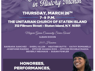 Join me in celebrating Women in History, March 26!