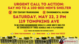 Join me May 22 to protest 100-bed men's shelter in Stapleton