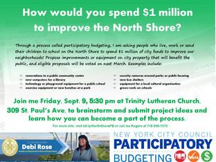 Participatory budgeting neighborhood assemblies kick off this month