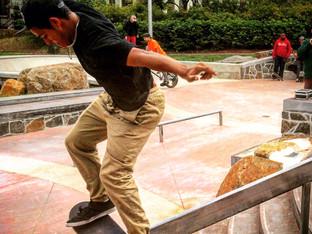 Faber Skate Park opens!