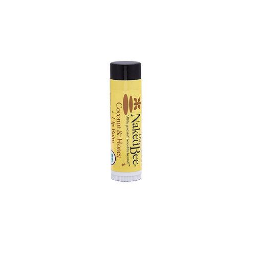 Naked Bee Coconut & Honey Lip Balm .15oz