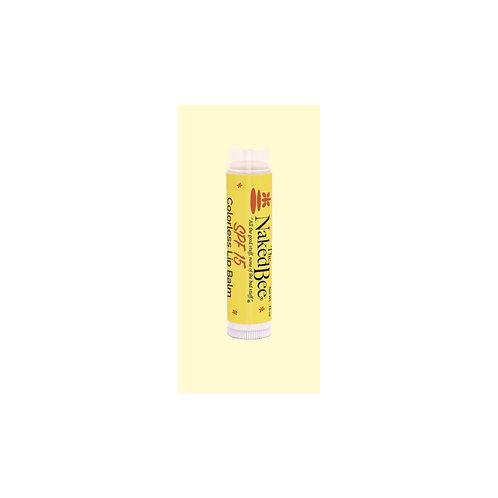 Naked Bee Orange Blossom Honey Lip Balm SPF 15 .15oz