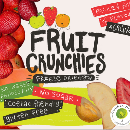 Freeze Dried Fruit Crunchies 65g