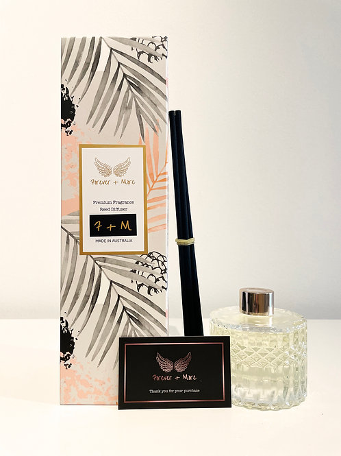 Triple Scented Reed Diffuser - Japanese Honeysuckle