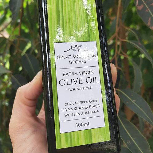Cold Pressed Extra Virgin Olive Oil 500ml