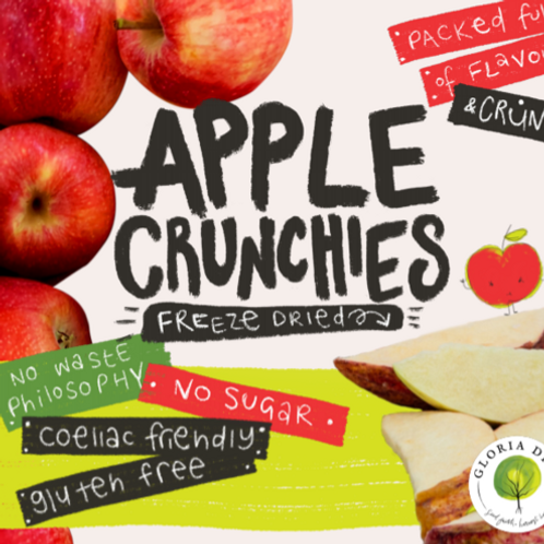 Freeze Dried Apple Crunchies 65g