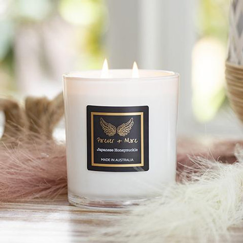 Triple Scented Large Soy Candle - Japanese Honeysuckle