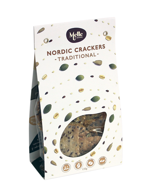 Traditional Nordic Crackers 135 g