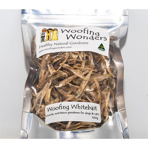 Woofing Whitebait 100g