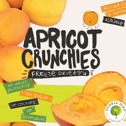 Freeze Dried Apricot  Crunchies 65g