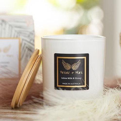 Triple Scented Large Soy Candle - Llima Milk & Honey