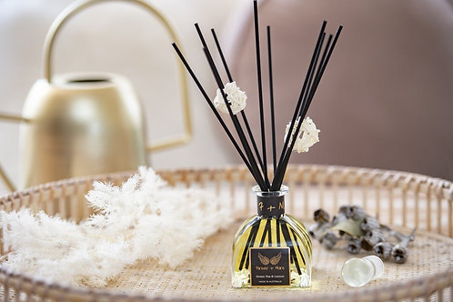 Triple Scented Reed Diffuser- Green Tea and Lemon