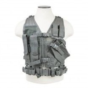 VISM® by NcSTAR® TACTICAL VEST/URBAN GRAY XS-S