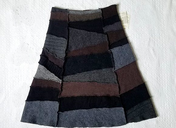 Wool Peace Skirt size S-M