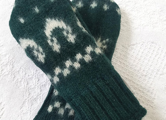 Cashmere-lined mittens