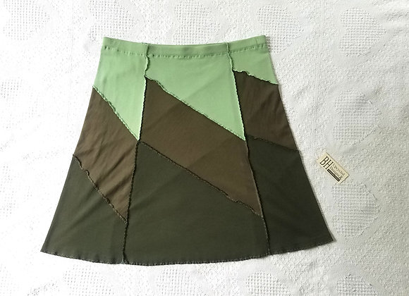 Forest A-Line Skirt size L