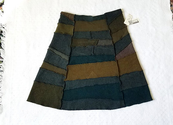 Wool Peace Skirt size M