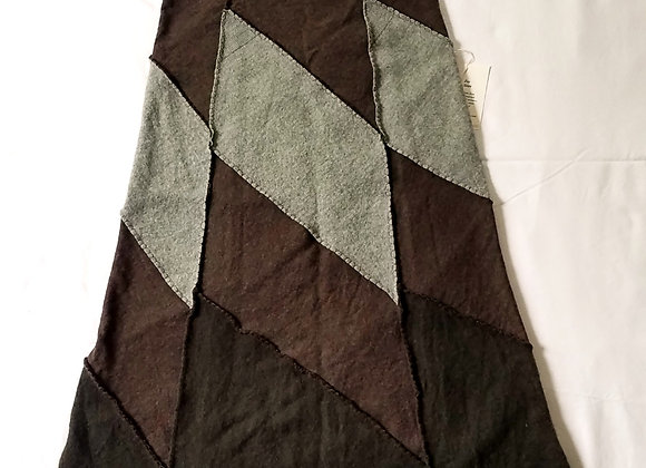 Green and Brown wool midi size XS-S