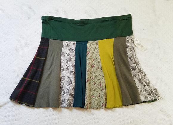 Foresty Green Twirly Skirt size XL+