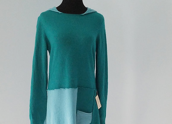 Teal Cashmere Tunic size S