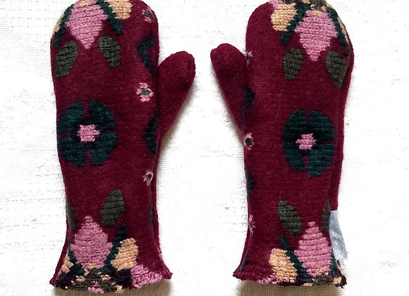 Extra Thick Cashmere-Lined Mittens