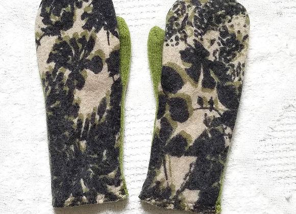 Cashmere-Lined Mittens Lightweight