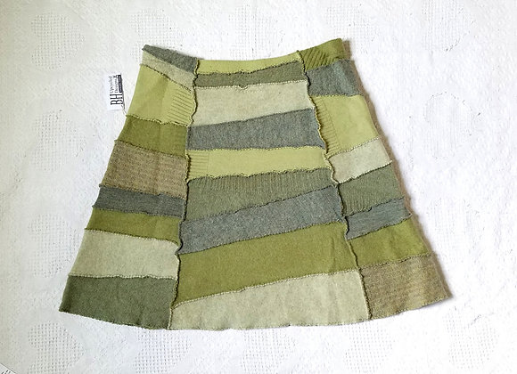 Wool Peace Skirt size L