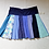 Thumbnail: Spunky Blues Twirly Skirt Size XL