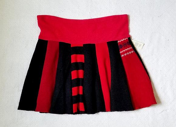 Wool Twirly Skirt size XL+