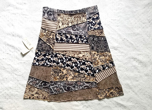 Brown Peace Skirt size S-M