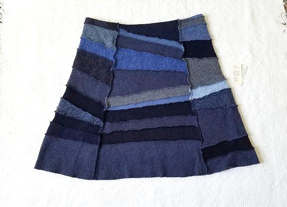 Wool Peace Skirt size L