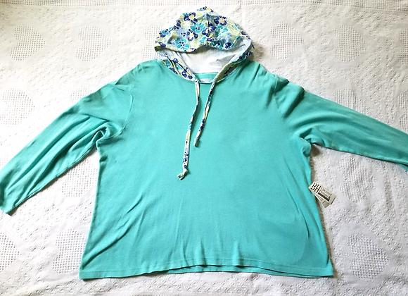 Sea Green Hoodie