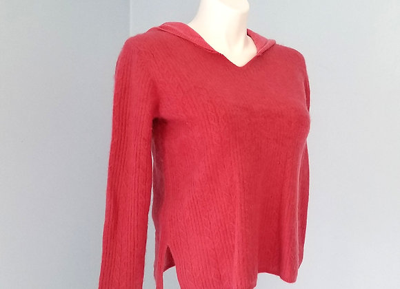 Rose Cashmere Hoodie size M