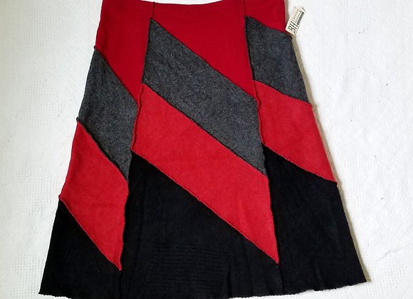 Wool Midi Skirt size XL+