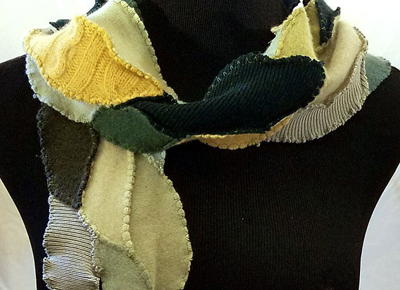 Green Cashmere Scarflet