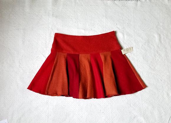 Wool Mini Twirly Skirt sizeL