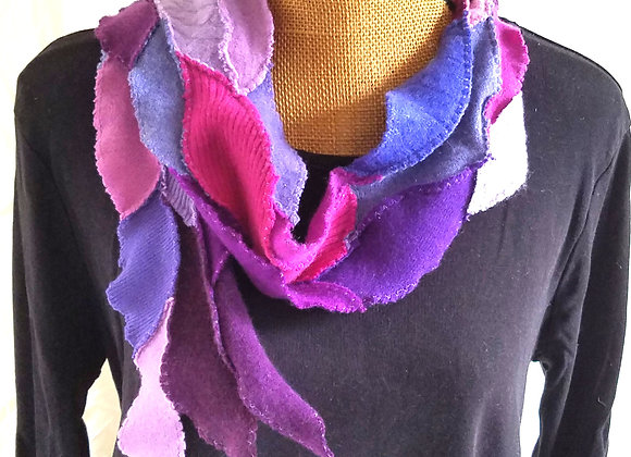 Purple, Fuschia and Periwinkle Scarflet