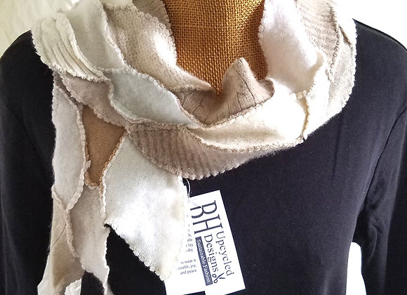 Cream and Camel Scarflet