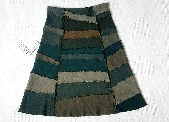 Wool Peace Skirt size S