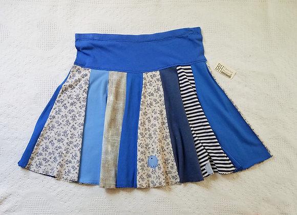 Happy Blues Twirly Skirt size XL